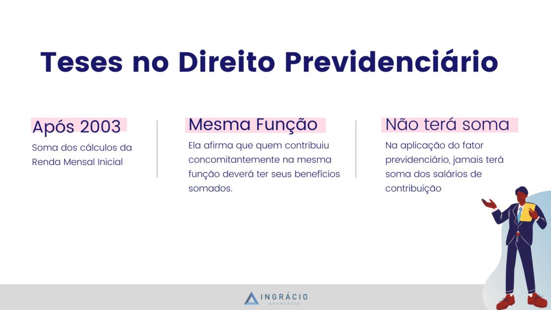 Principais teses no direito previdenciário - Ingrácio Advocacia