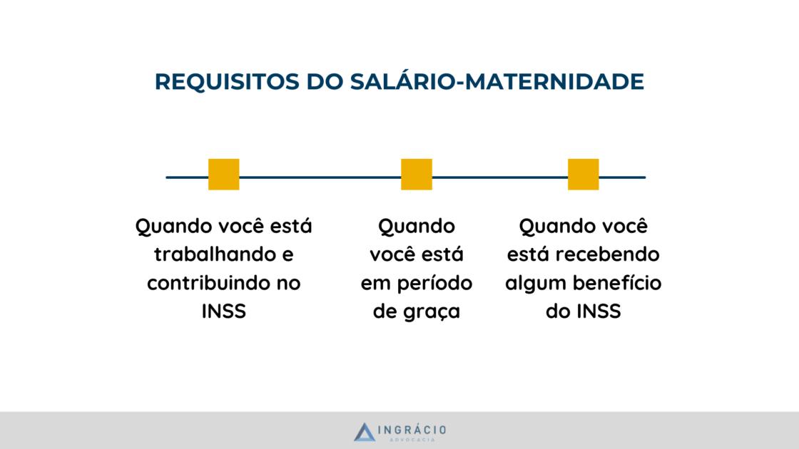 Requisitos para ter salário-maternidade