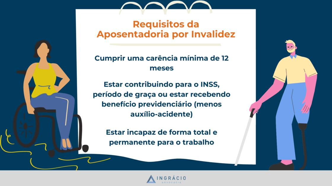 Requisitos da Aposentadoria por Invalidez