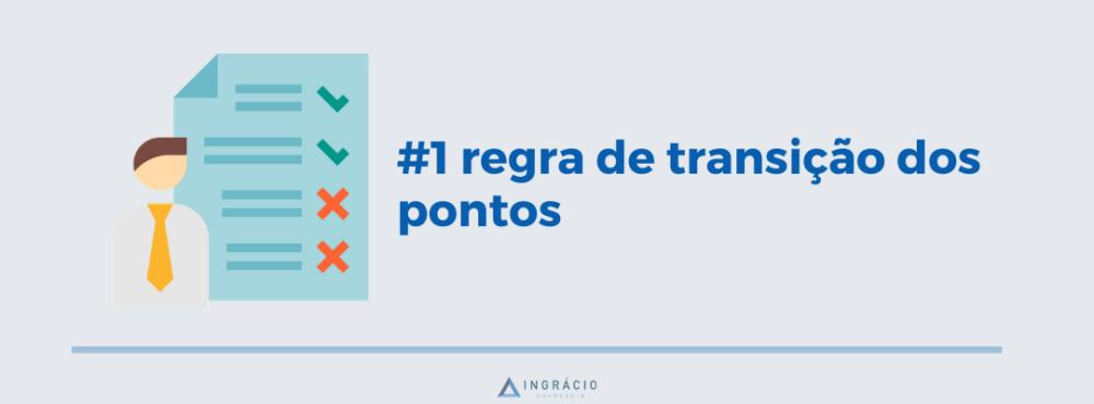 Como funciona a Regra de transição por pontos