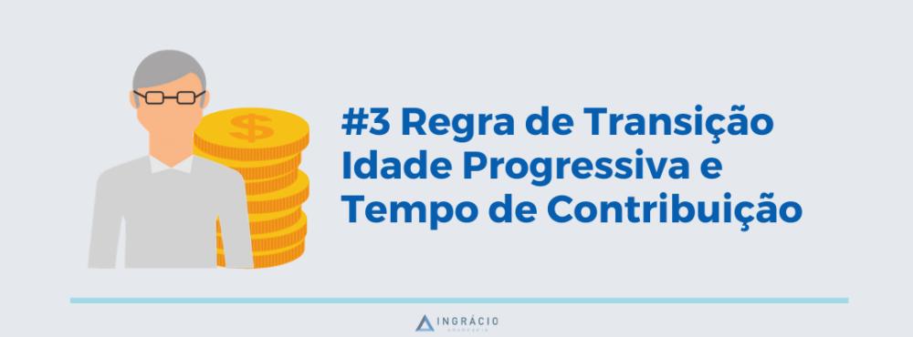 Regra de Transição por Idade Progressiva e Tempo de Contribuição com a Reforma da Previdência