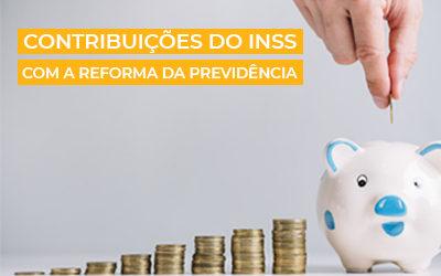 Contribuições do INSS 2020   Com a Reforma da Previdência