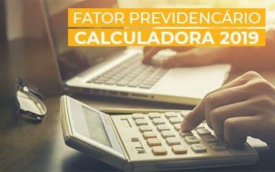 Calculadora Fator Previdenciário 2019
