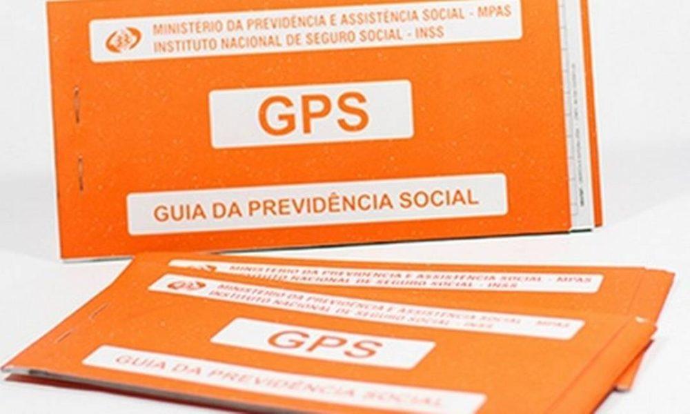 GPS: Guia da Previdência Social.