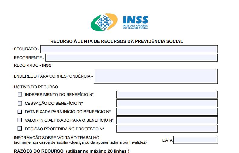 Recurso Administrativo INSS